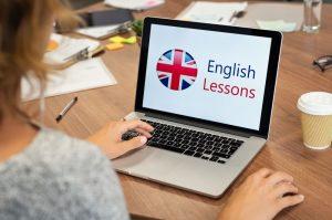 učenje angleščine preko spleta